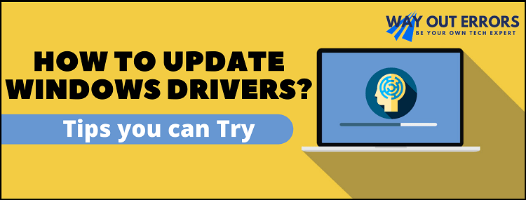 How to update drivers using Windows Update?