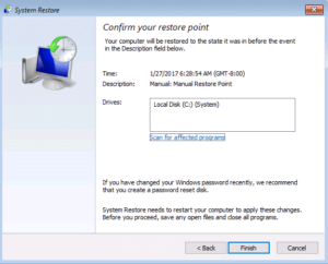 How to use Windows 8 System Restore?