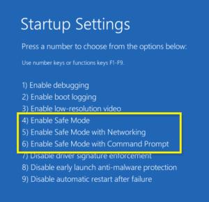 boot Menu Windows 8