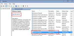 Windows services.msc command